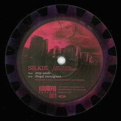 "Silkie ‎– Step Aside 12"" ASC003 Antisocial Entertainment, Cloqworq Recordings 001"