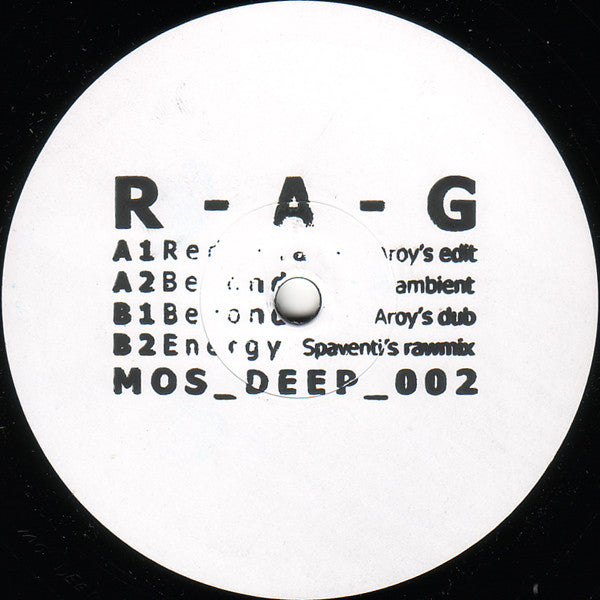 RAG ‎– Beyond EP MOS Recordings ‎– MOSDEEP002