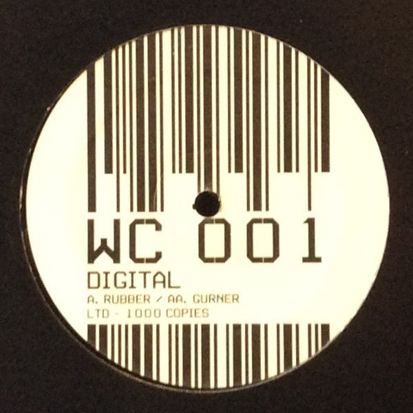 "Digital - Rubber / Gurner 12"" White Cow WC001"
