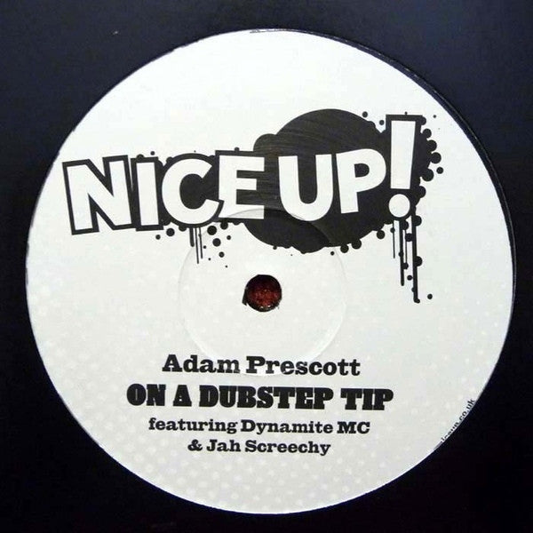 "Adam Prescott - On A Dubstep Tip 12"" NICEUP013 Nice Up!"