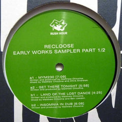 "Recloose - Early Works Sampler 1/2 12"" Rush Hour Recordings RH112-12-1"