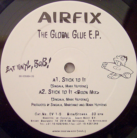 Airfix - The Global Glue EP - Eat Vinyl Bob ‎– EV 1-5