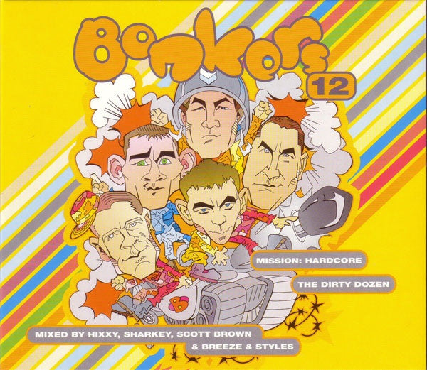 Bonkers 12 - The Dirty Dozen - Various (4xCD) React REACTCD246