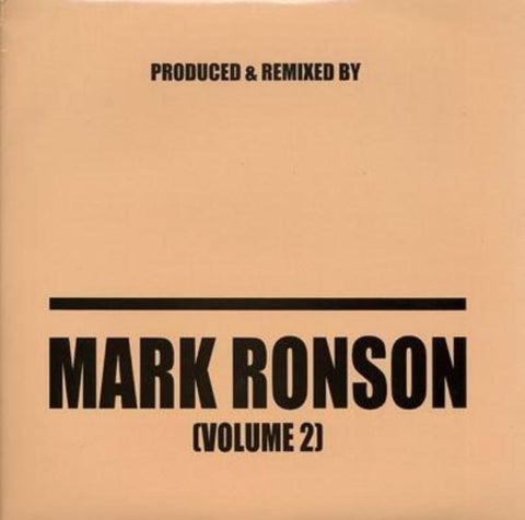 "Mark Ronson - Produced & Remixed By Mark Ronson (Volume 2) 2x12"" MRON002"