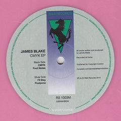 "James Blake - CMYK EP 12"" RS1003M R & S Records"