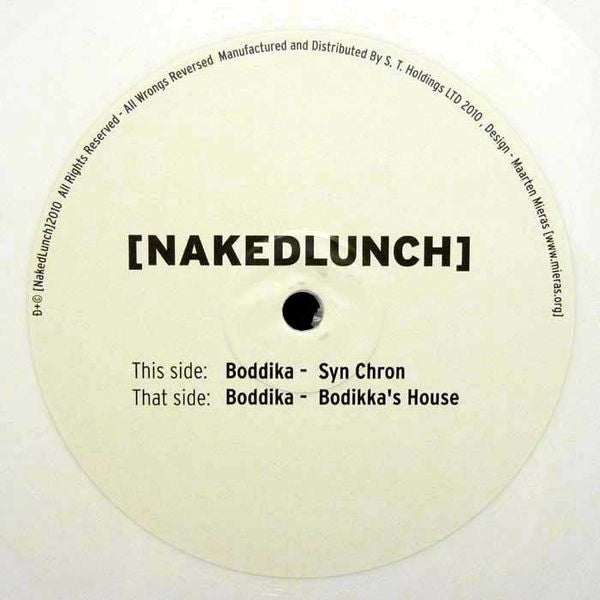 "Boddika - Boddika's House / Syn Chron 10"" NL007 [NakedLunch]"