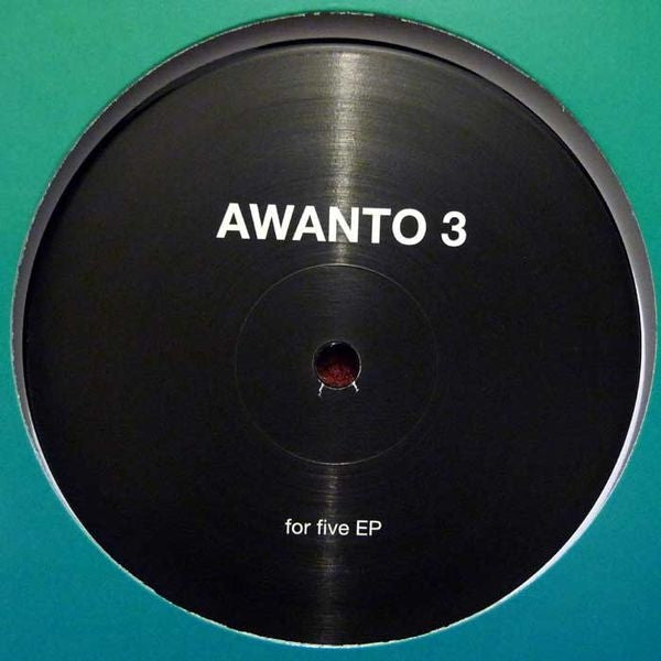 "Awanto 3 ‎– For Five EP 12"" Rush Hour Recordings ‎– RH-VD 2"