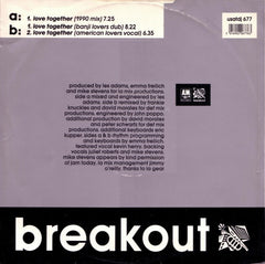 "LA Mix, Kevin Henry - Love Together 12"" Breakout USAT677DJ"