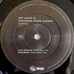 "Roy Davis Jr, Peven Everett - Gabriel 12"" XLT88 XL Recordings"