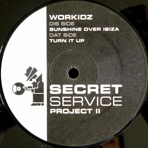"Workidz - Project II 12"" SS002 Secret Service Records"