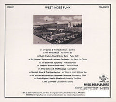 Various - West Indies Funk (CD) TRA454003 Trans Air