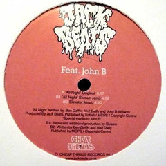 "Jack Beats Feat John B - All Night 12"" Cheap Thrills Records CHEAP33x"