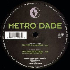 "Metro Dade - Tainted Clubnight 12"" Music Man Records MM026"