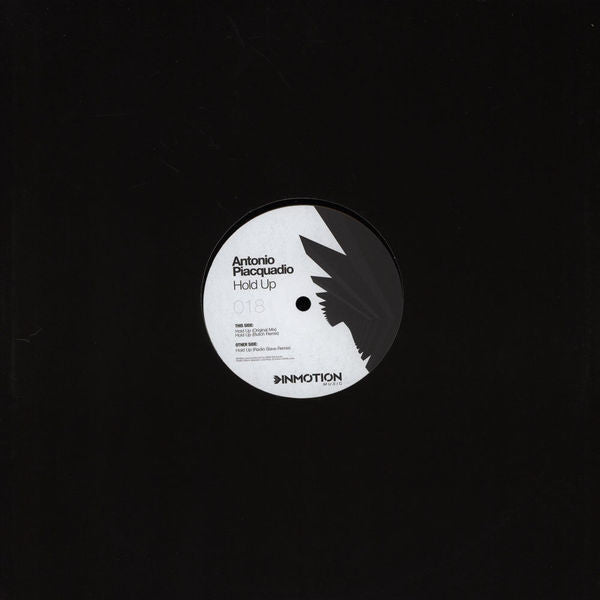 Antonio Piacquadio ‎– Hold Up Inmotion Music ‎– INM018