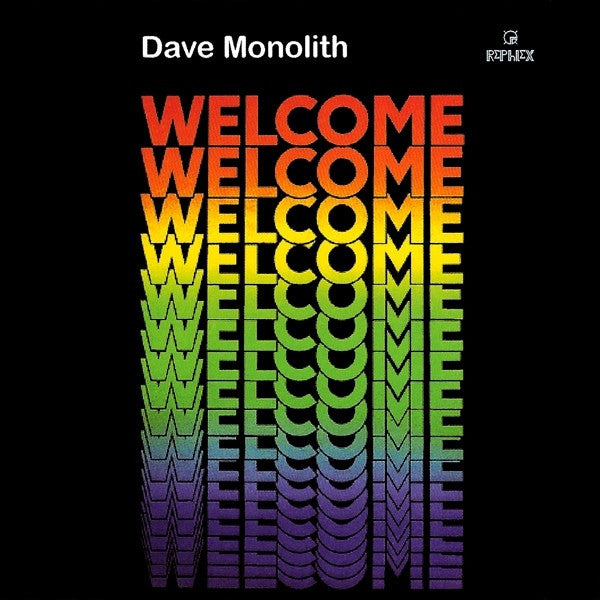 Dave Monolith - Welcome (CD) CAT216CD Rephlex