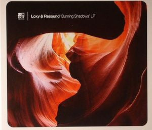 Loxy & Resound ‎– Burning Shadows (CD) Exit Records ‎– Exit CD 009