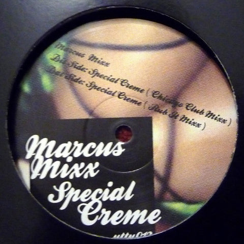 Marcus Mixx ‎– Special Creme - Unknown To The Unknown ‎– uttu012