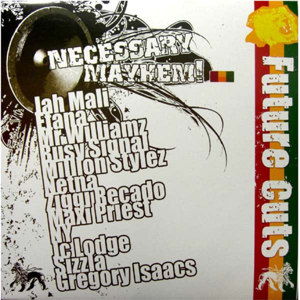 "Various ‎– Necessary Mayhem Presents... Future Cuts 12"" Necessary Mayhem ‎– NECMAY003LP"
