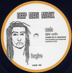 "Mala - Changes / Forgive 12"" Repress MEDI04 Deep Medi Musik"