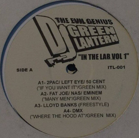 Various ‎– DJ Green Lantern In The Lab Volume 1 - ITL-001 PROMO