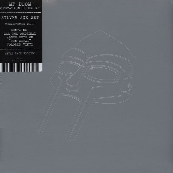 "MF Doom - Operation: Doomsday 2x12"" MK90 Metal Face"