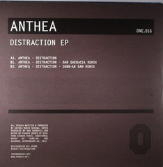"Anthea - Distraction EP 12"" ONE016 One Records"