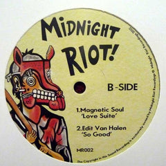 "Various - Midnight Riot! 12"" MR002 Midnight Riot Recordings"