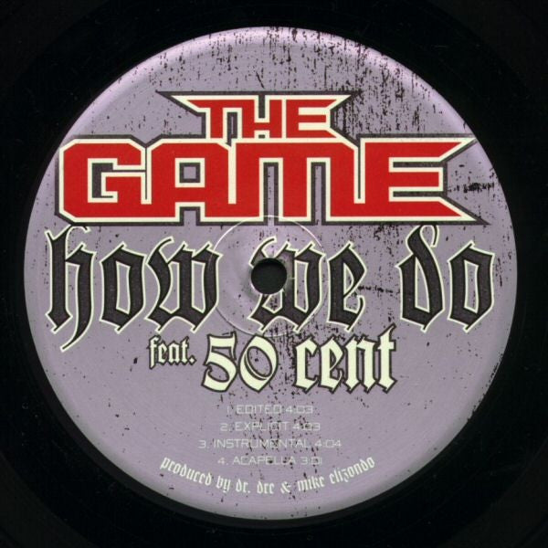 The Game Feat 50 Cent ‎– How We Do 12