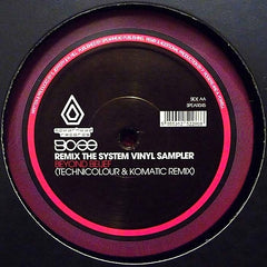 "BCee - Remix The System Vinyl Sampler 12"" SPEAR045 Spearhead Records"