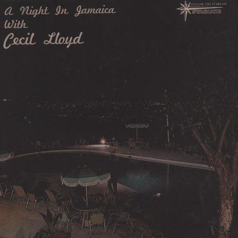 Cecil Lloyd ‎– A Night In Jamaica With Cecil Lloyd - Dub Store Records, Starline ‎– DSR LP 509