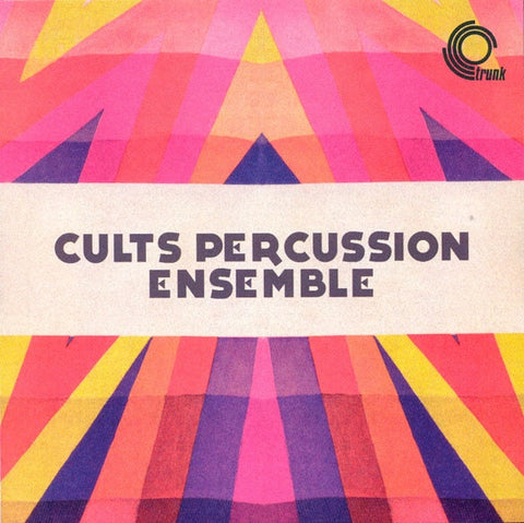 "Cults Percussion Ensemble ‎– Cults Percussion Ensemble 12"" Trunk Records ‎– JBH046LP"
