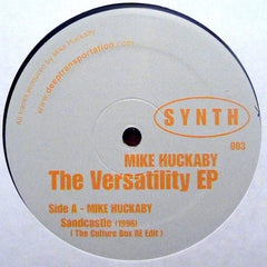 Mike Huckaby - The Versatility EP - S Y N T H SYNTH 003