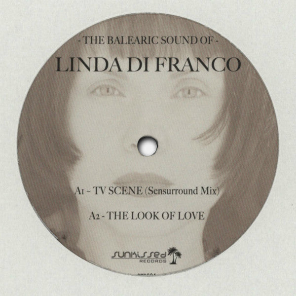 Linda Di Franco ‎– The Balearic Sound Of Linda Di Franco - Sunkissed Records – SKD004