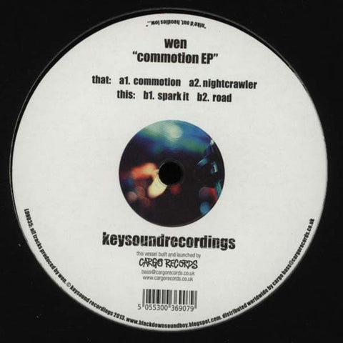 "Wen - Commotion EP 12"" Keysound Recordings ‎– LDN035"