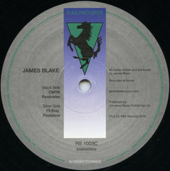 "James Blake - CMYK EP 12"" RS1003C R & S Records"