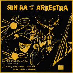 "Sun Ra And His Arkestra - Super-Sonic Jazz 12"" SRLP0216 El Saturn Records"
