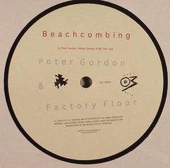 "Peter Gordon, Factory Floor - Beachcombing / Cside 12"" OM19 Optimo Music"