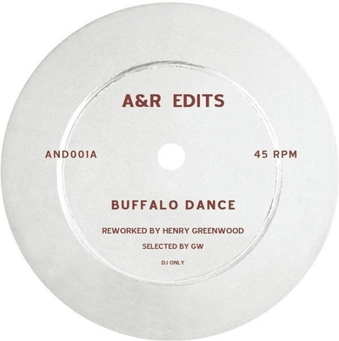 Henry Greenwood - Buffalo Dance - A&R Edits ‎– AND001