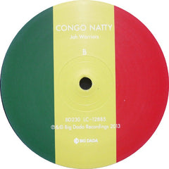 "Congo Natty - Jah Warriors 12"" BD230 Big Dada Recordings"