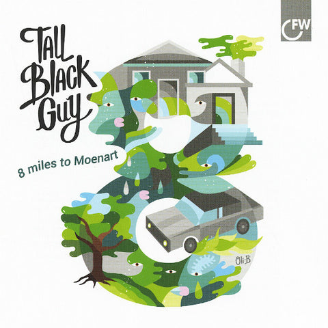 Tall Black Guy ‎– 8 Miles To Moenart - First Word Records ‎– FW92