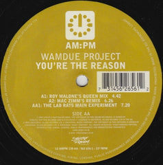 "Wamdue Project - You're The Reason 12"" 5626561, 12AMPM130 AM:PM"