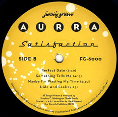 "Aurra - Satisfaction 12"" FG6000 Family Groove Records"