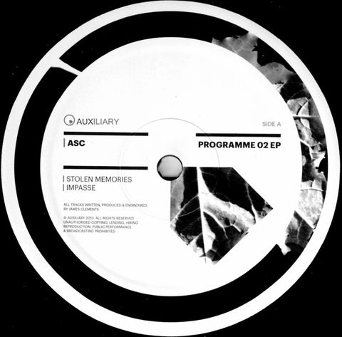 ASC ‎– Programme 02 EP - Auxiliary ‎– AUX010