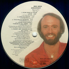 "Bee Gees - Greatest 2x12"" RSO 2658132"
