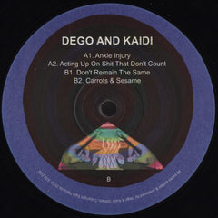 Dego And Kaidi - Dego And Kaidi EP - Eglo Records ‎– EGLO32