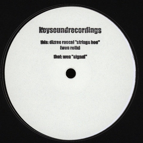 "Wen - Strings Hoe (Wen Refix) / Signal 12"" LDN043 Keysound Recordings"