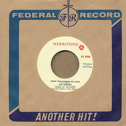 The Tartans / Lynn Taitt & The Jets ‎– What You Gonna Do Now / Pata Pata - Merritone, Dub Store Records ‎– DSR-FED7-039