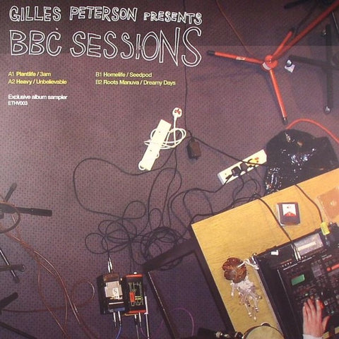 "Gilles Peterson - BBC Sessions 12"" ETHV003 Ether"