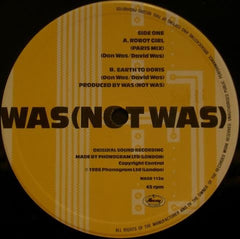 "Was (Not Was) - Robot Girl (Remix) 12"" WASR112 Mercury"