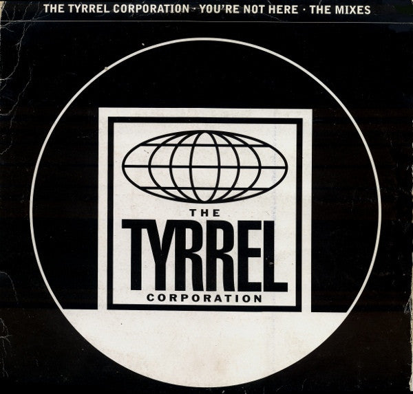 "Tyrrel Corporation - You're Not Here - The Mixes 2x12"" 12COOLDJ292 Cooltempo"